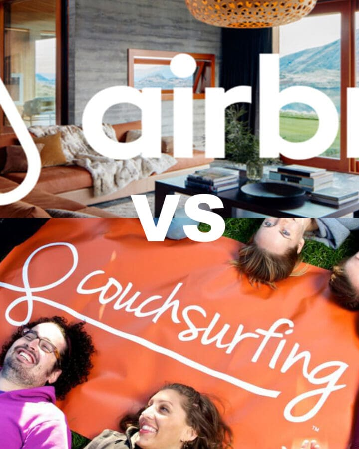 Couchsurfing vs. Airbnb: Which should I use and why?