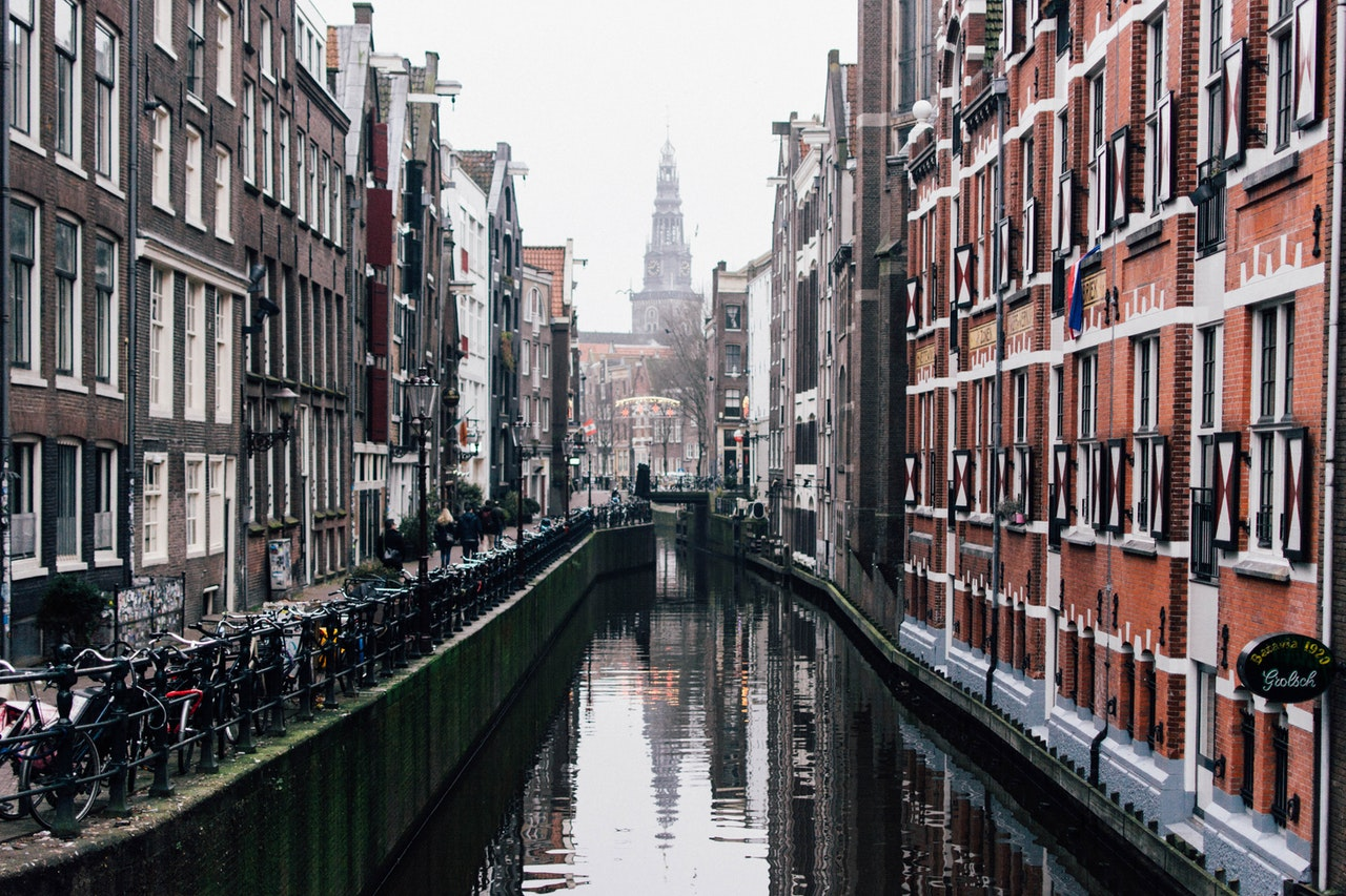 Ever wonder why Amsterdam buildings are narrow?